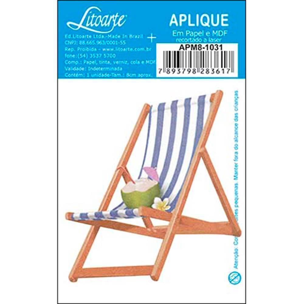 Beach Chair : Wood Ornament Embellishment Decor Crafts Hobby Diy Shape Laser
