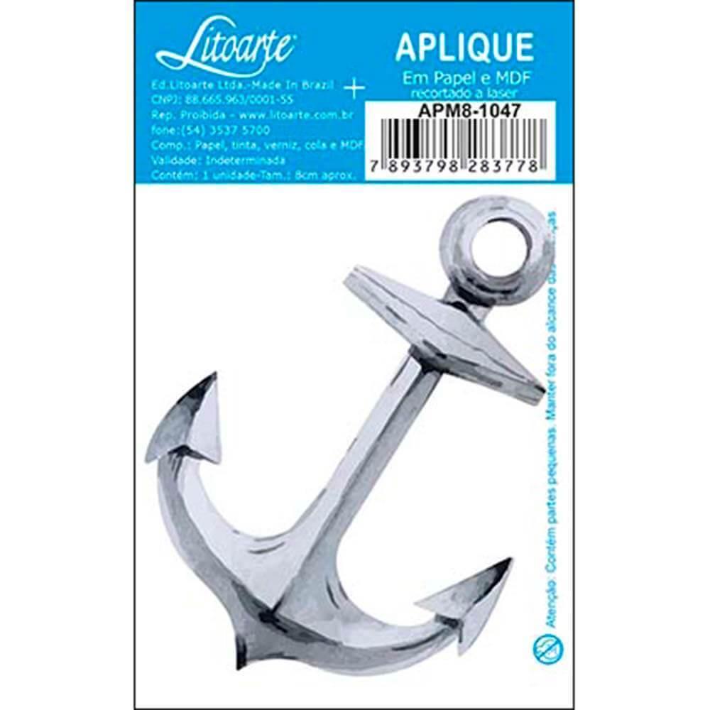 Anchor : Wood Ornament Embellishment Craft Scrap Diy Shape Laser Marine Maritime