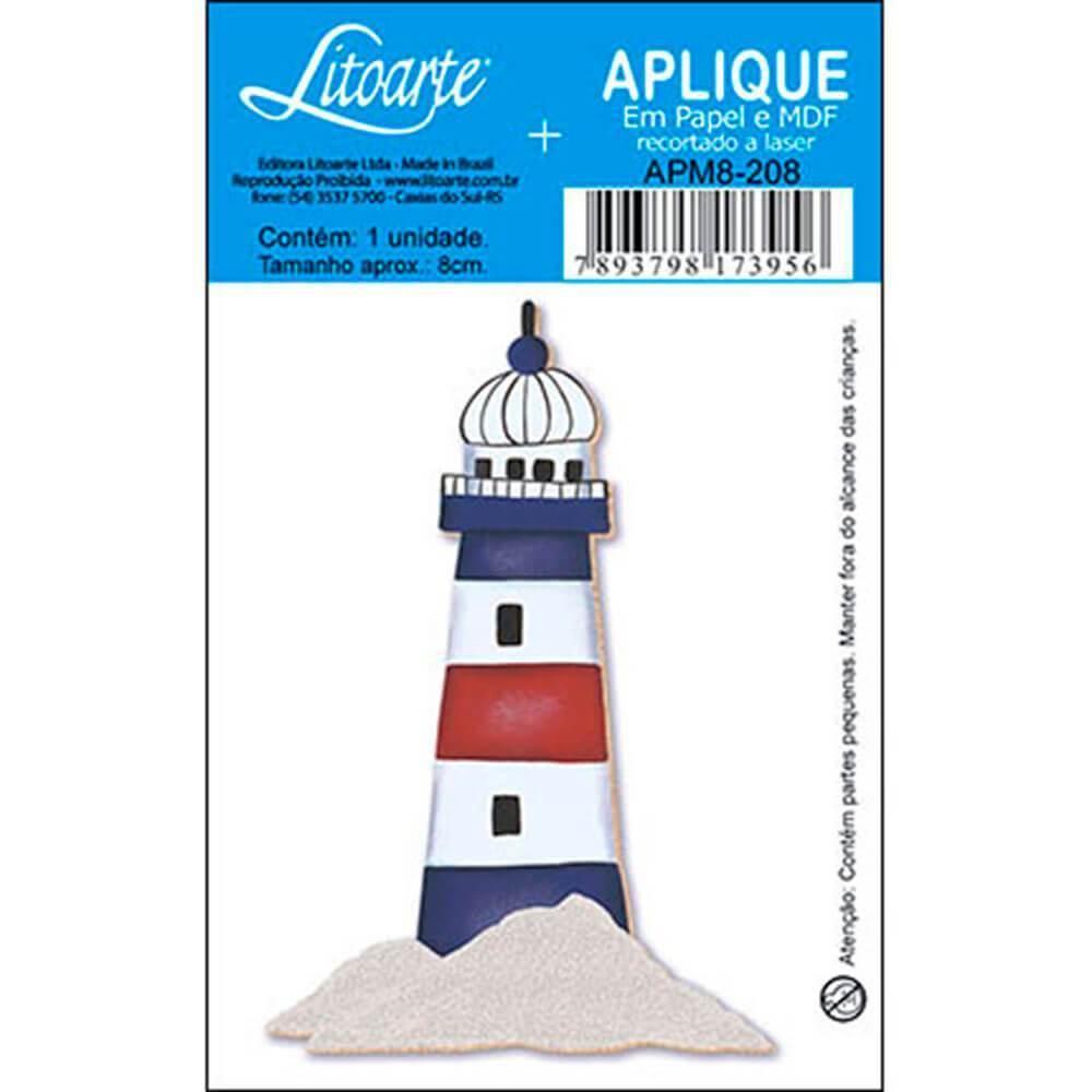 Lighthouse : Wood Ornament Decor Crafts Hobby Scrap Shape Laser Marine Maritime