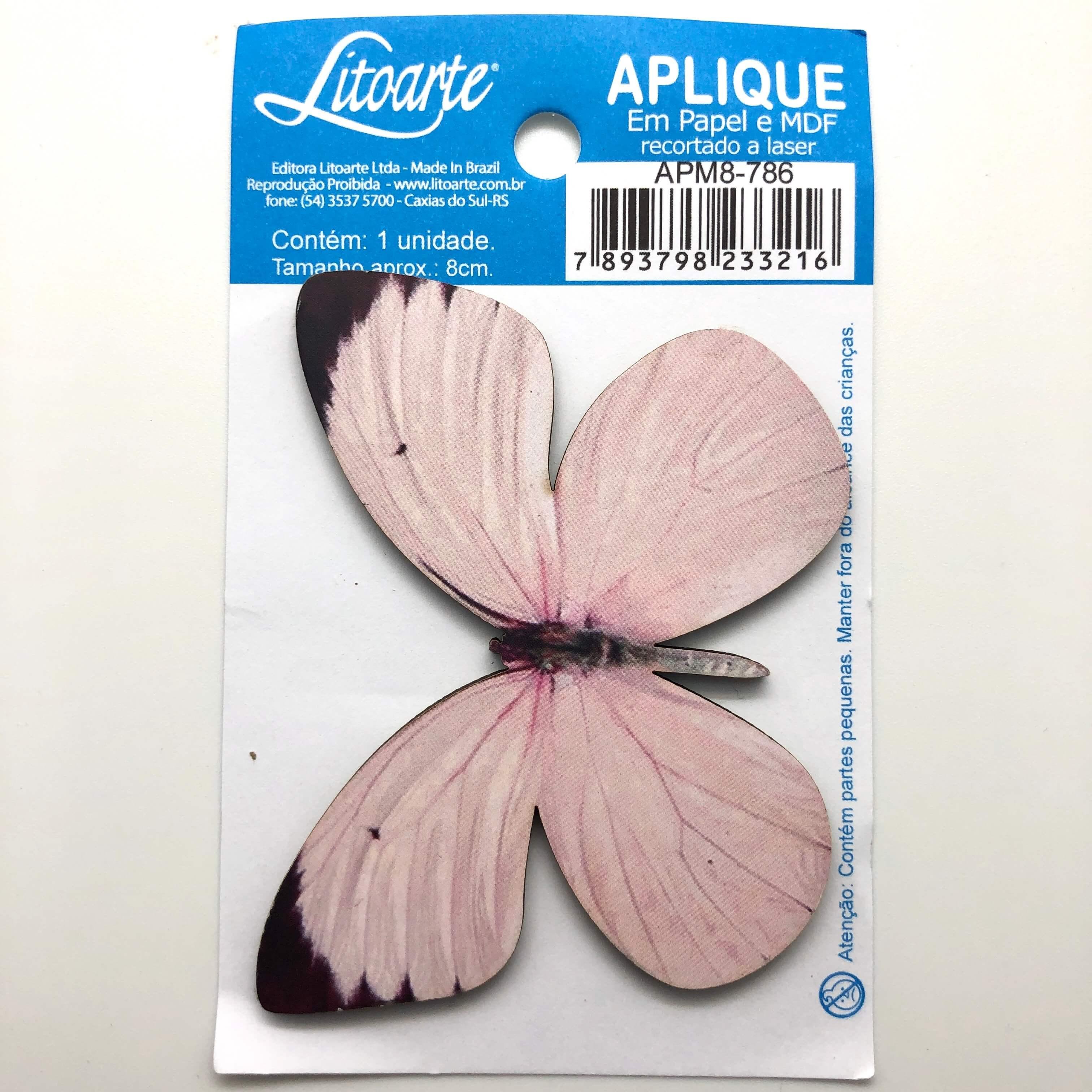 Butterfly : Wood Embellishment Crafts Scrap Diy Shape Laser