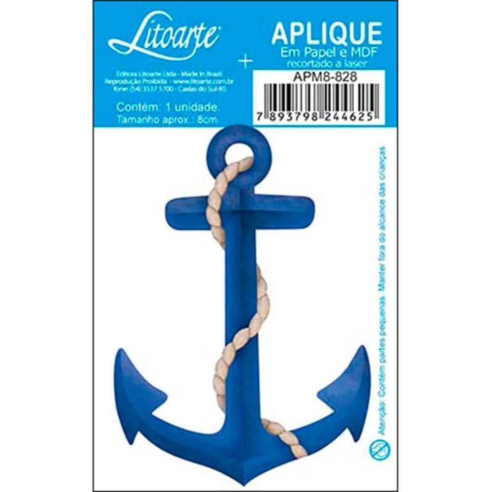 Anchor : Wood Ornament Embellishment Scrap Diy Shape Laser Marine Maritime Craft