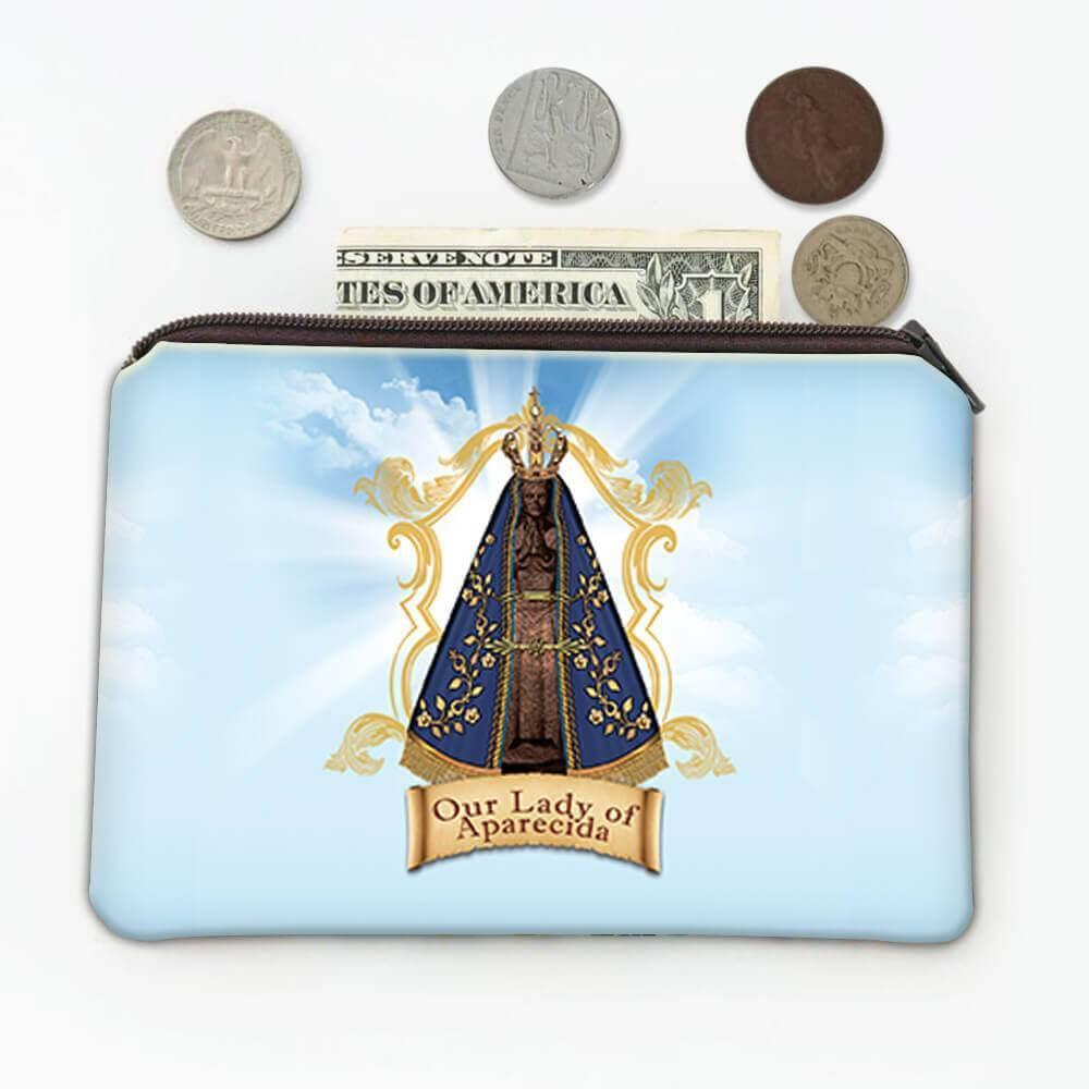 Our Lady of Aparecida : Gift Coin Purse Catholic Religious Saint Mary