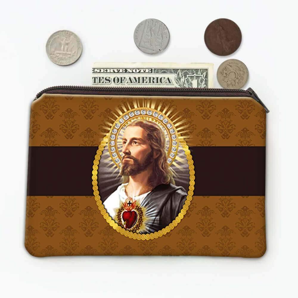 Jesus : Gift Coin Purse Catholic Religious Prayer Religion Classic Faith