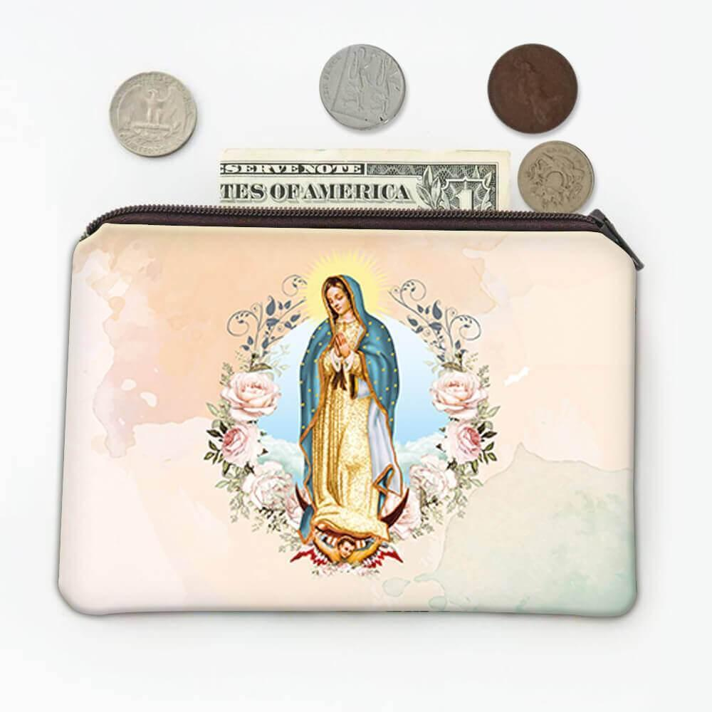 Our Lady of Guadalupe : Gift Coin Purse Catholic Religious Virgin Saint Mary