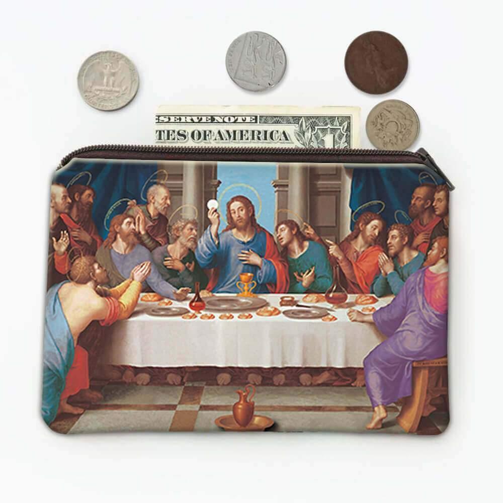 The Last Supper : Gift Coin Purse Catholic Religious Saint Communion