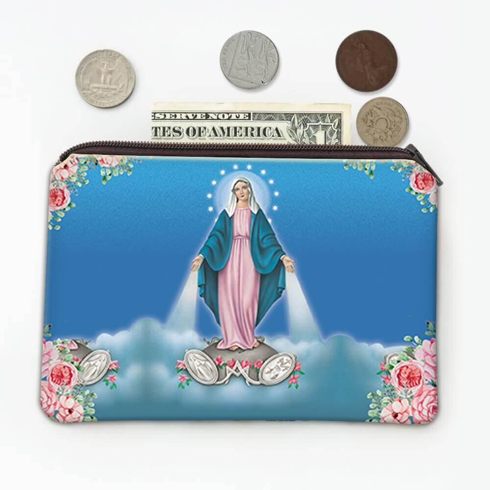 Our Lady of Grace and Medal : Gift Coin Purse Religious Virgin Mary Catholic Saint