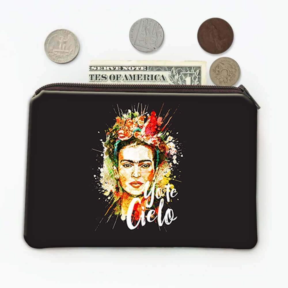Frida Kahlo Yo Te Cielo : Gift Coin Purse Decor Birthday Christmas