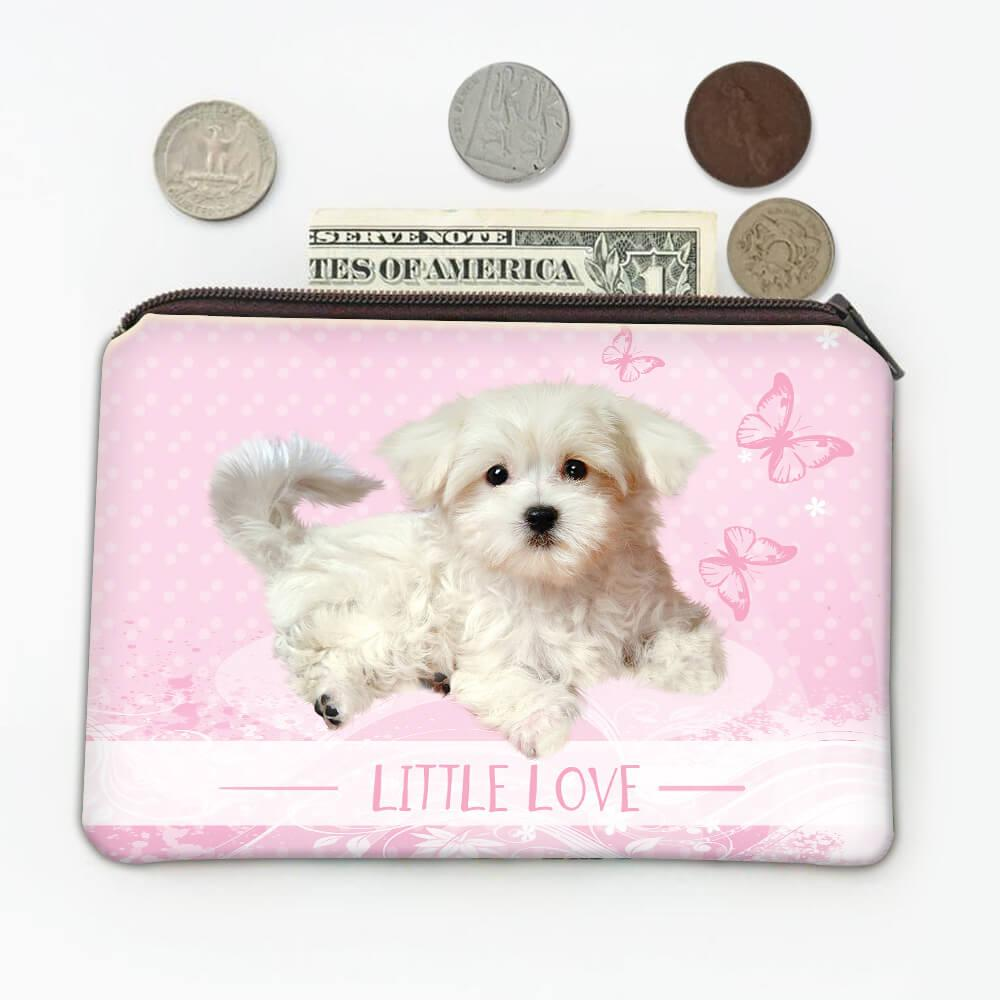 Poodle Mom : Gift Coin Purse Dog Puppy Pet Animal Cute Little Love