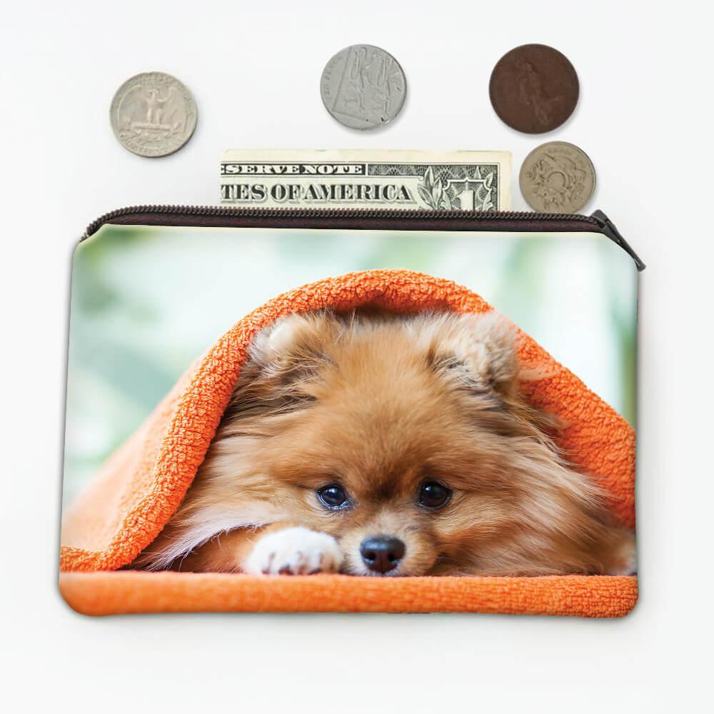 Pomeranian Towel Funny Sorry I Cant : Gift Coin Purse Dog Pet Puppy Animal Cute Humor