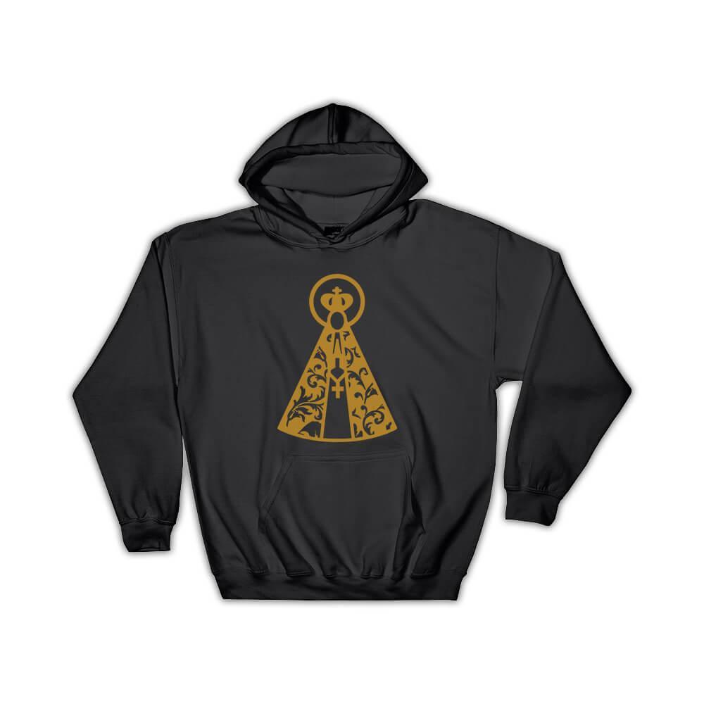 Our Lady Of Aparecida Mary : Gift Hoodie Catholic Religious Virgin Mary Aparecida