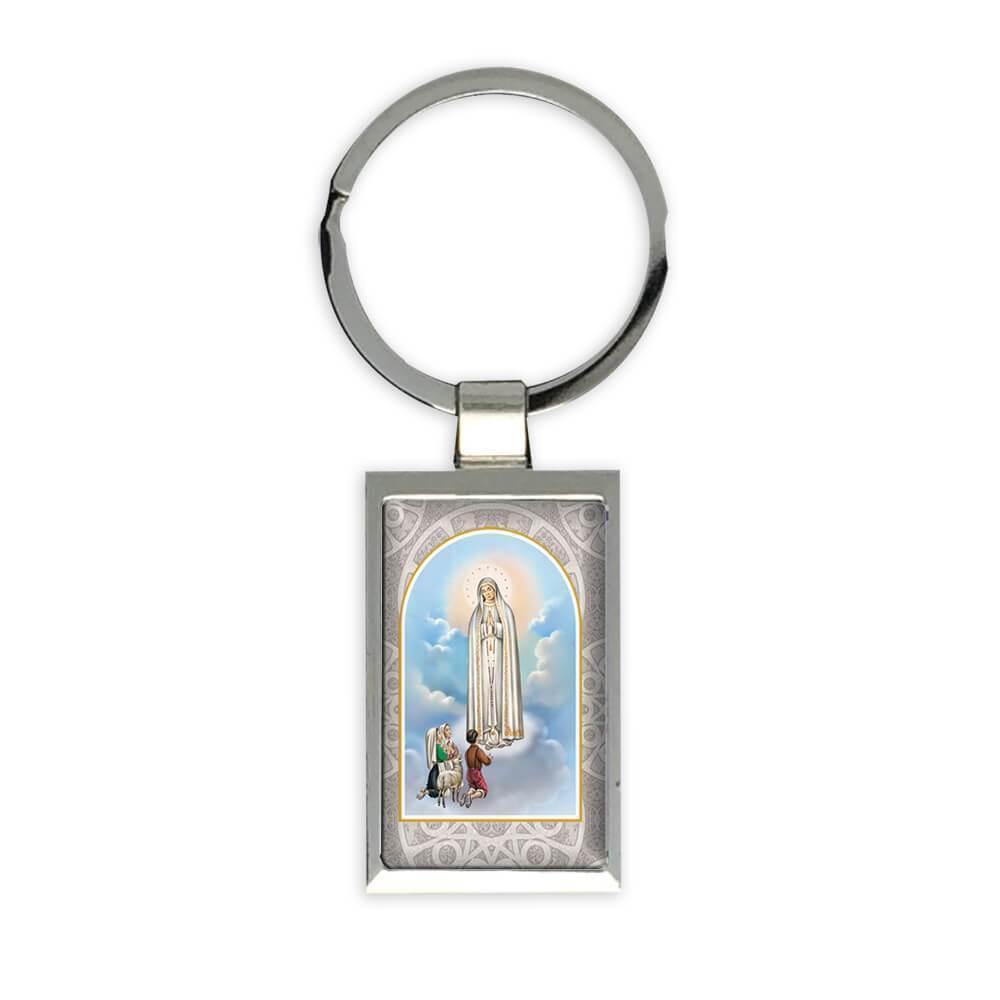 Our Lady of Fatima : Gift Keychain Catholic Religious Virgin Saint