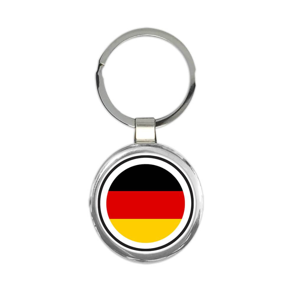 Germany : Gift Keychain Flag Never Underestimate The Power German Expat Country