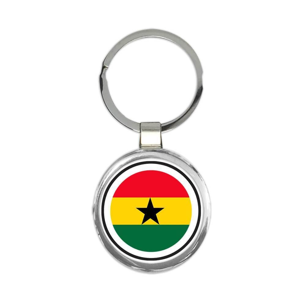 Ghana : Gift Keychain Flag Never Underestimate The Power Ghanaian Expat Country