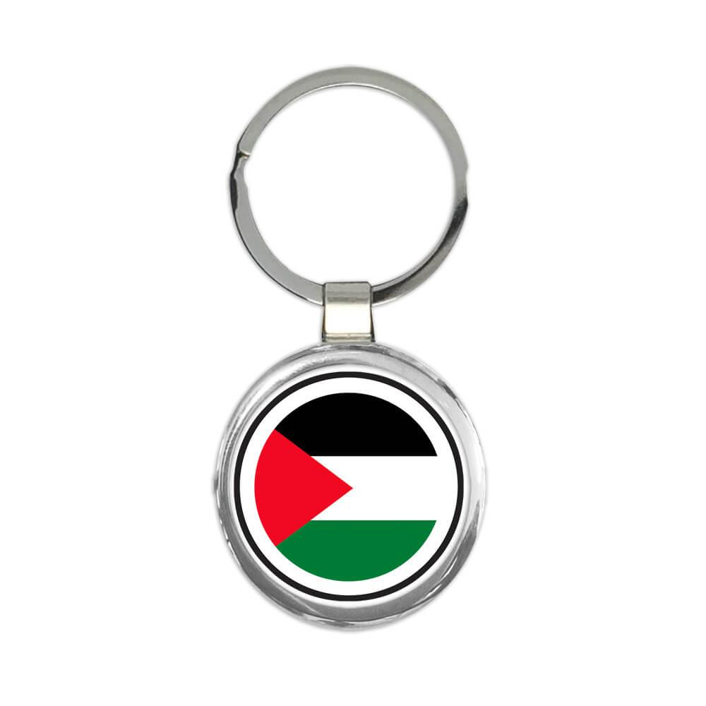 Palestine : Gift Keychain Flag Never Underestimate Power Palestinian Expat Country