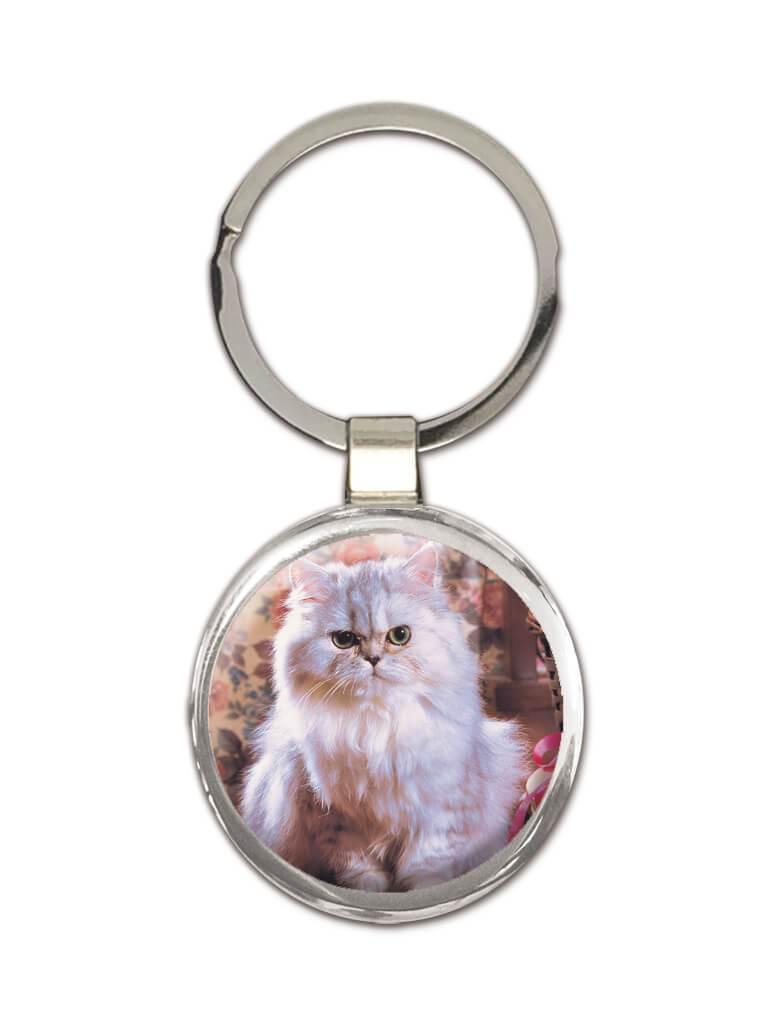 Cat : Gift Keychain Kitten Play Funny Cute Animal Pet Persian