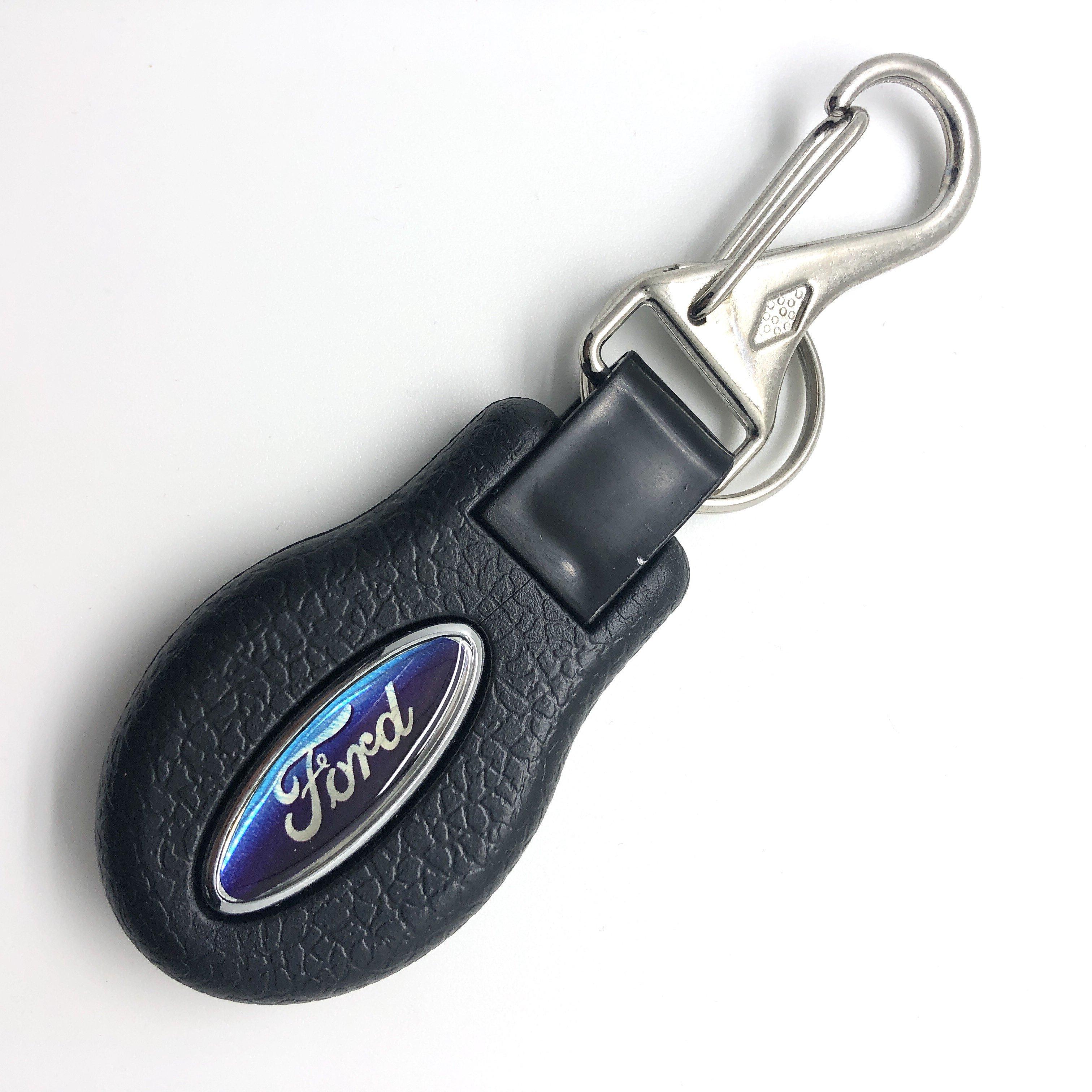 Ford Rigid : Keychain Gift Logo Ring Key Fob Car Holder Plastic