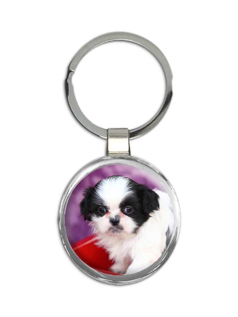 Shih Tzu Cart : Gift Keychain Dog Funny Cute Pet Canine Pets Dogs