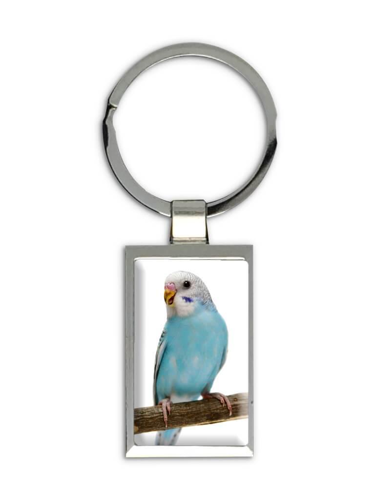 Worlds Best Parakeet Mom : Gift Keychain Bird Cute Funny Christmas