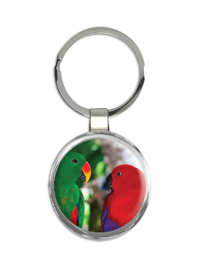 Parrot : Gift Keychain Tropical Bird Nature Ecology Love Bird Agapornis Mexico