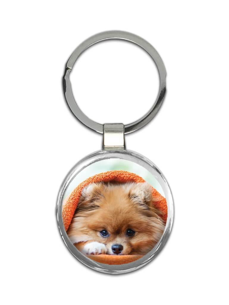 Pomeranian Towel Funny Sorry I Cant : Gift Keychain Dog Pet Puppy Animal Cute Humor