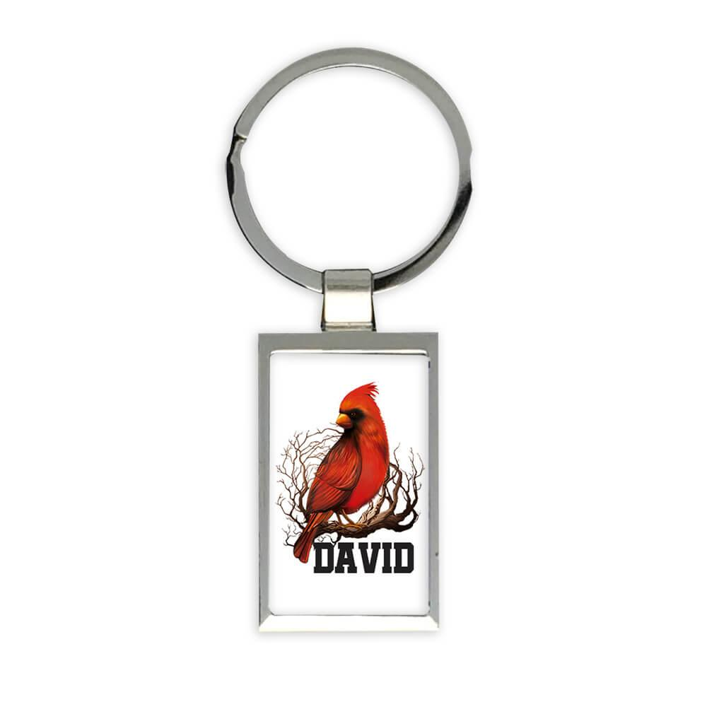 Personalized Cardinal Mug : Gift Keychain Name Bird Grieving Loved One Customizable