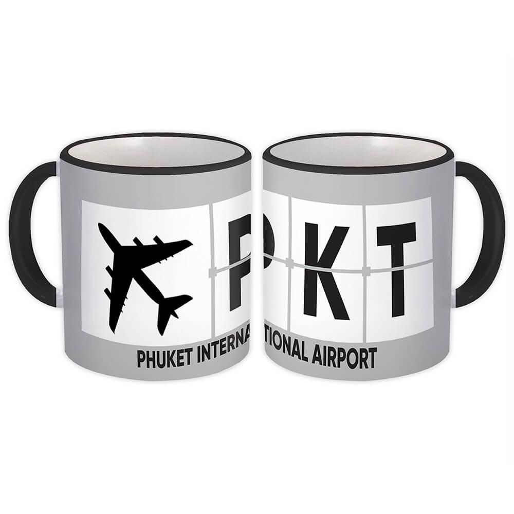 Phuket International Airport PKT : Gift Mug Airline Travel Crew AIRPORT