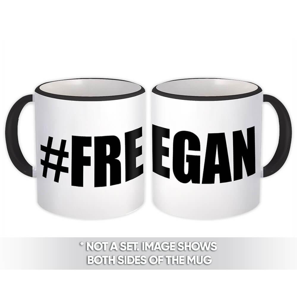Hashtag Freegan : Gift Mug Funny Coworker Sarcastic Friend
