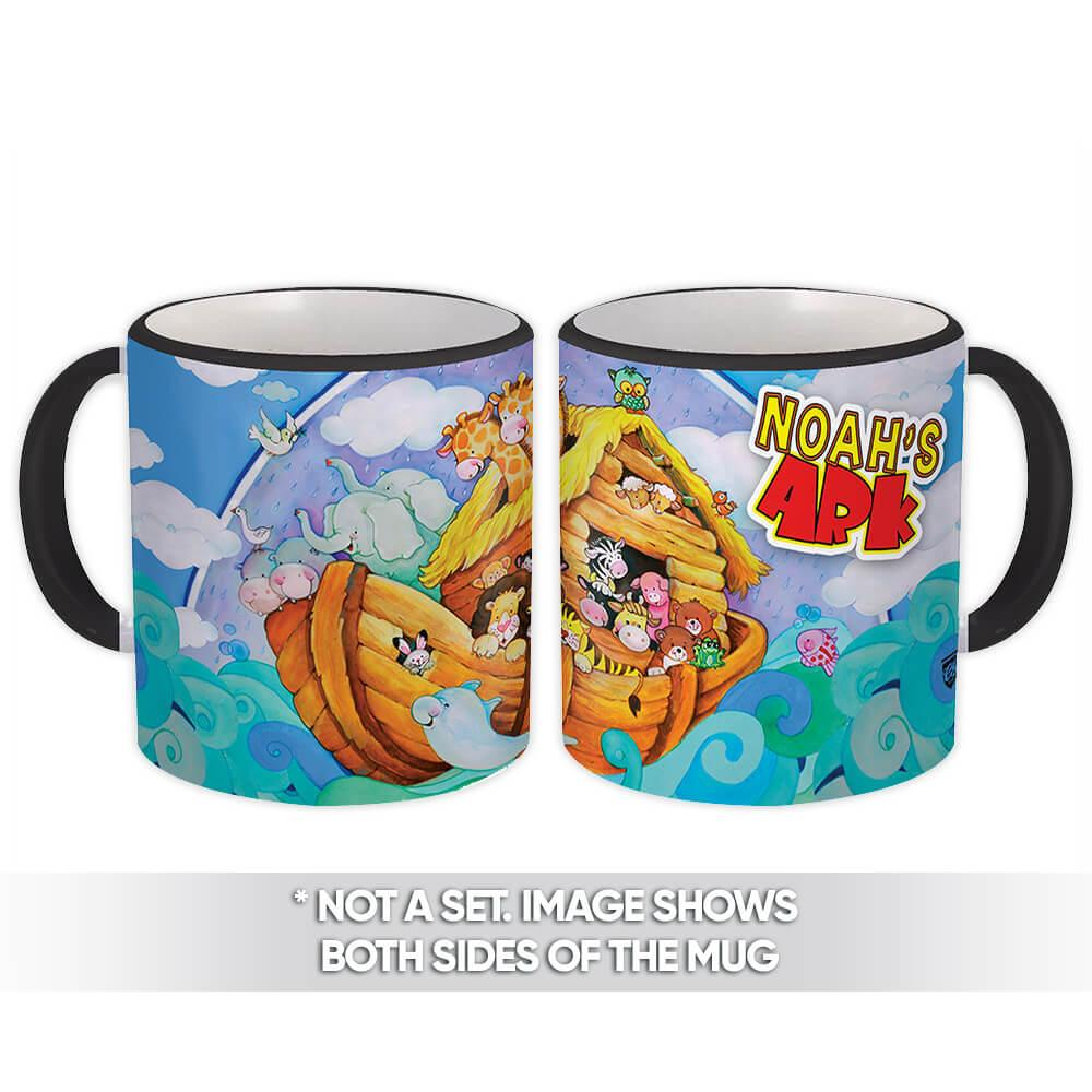 Noahs Ark : Gift Mug Christian Religious Catholic Jesus God Faith