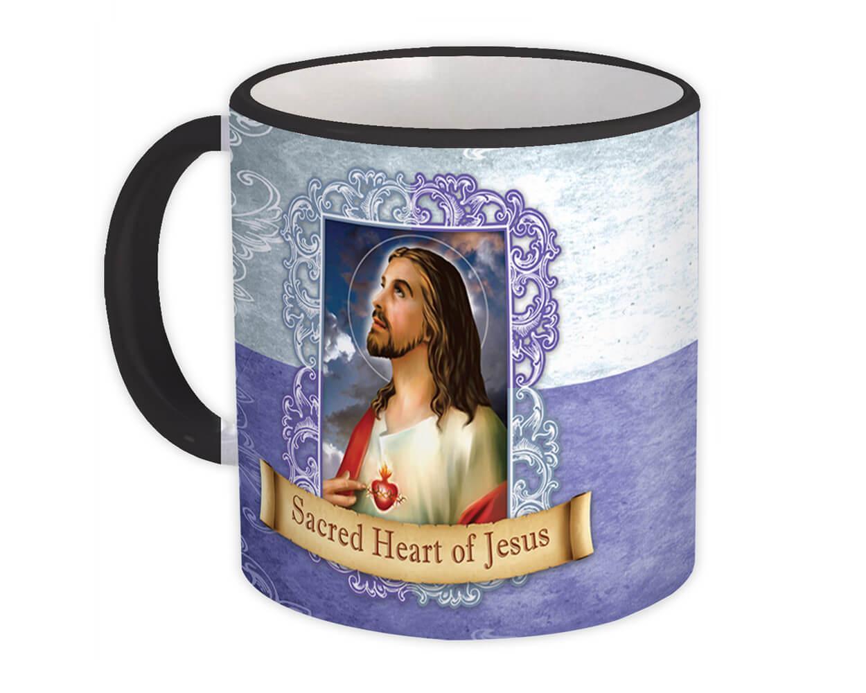 Sacred Heart of Jesus : Gift Mug Catholic Religious Saint