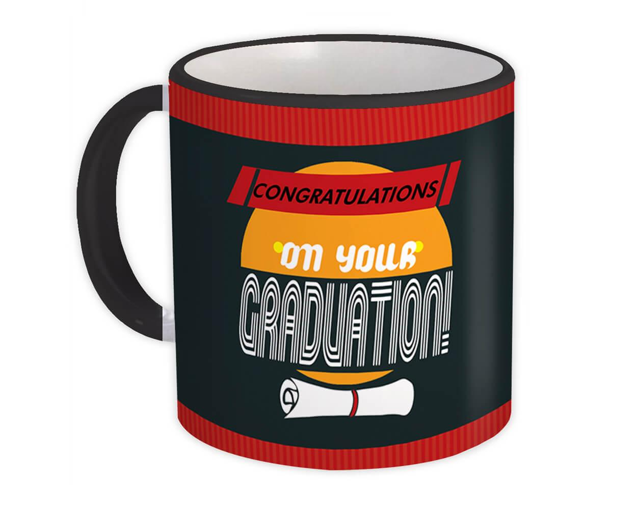 Graduation : Gift Mug Profession Job Work Cowork Birthday Occupation Graduation