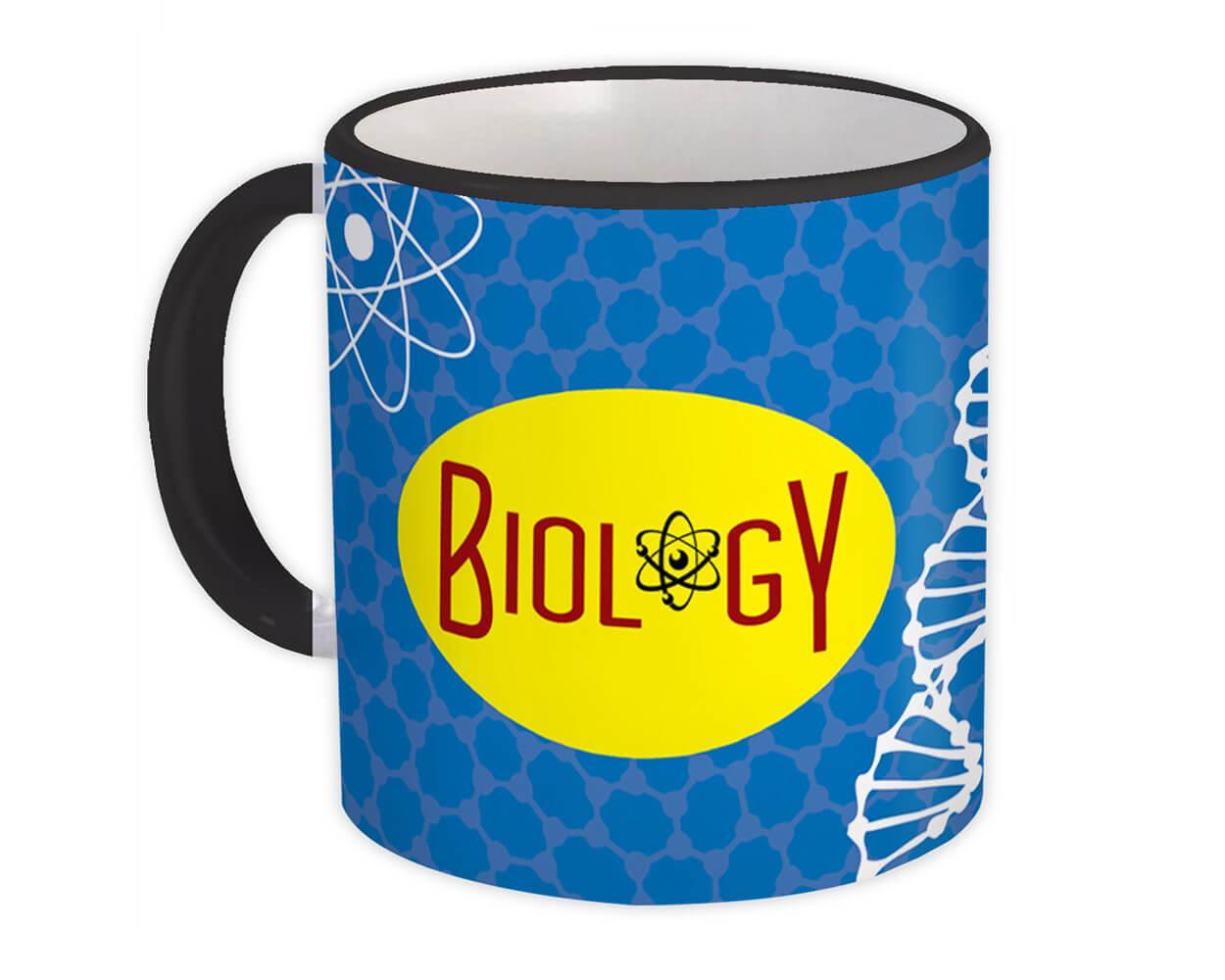 Biology : Gift Mug Profession Job Work Coworker Birthday Occupation Graduation
