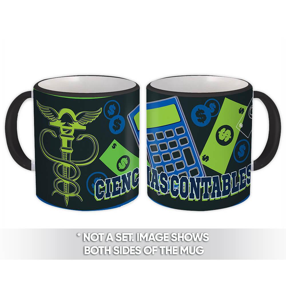 Ciencias Contables : Gift Mug Profession Job Work Coworker Birthday Occupation