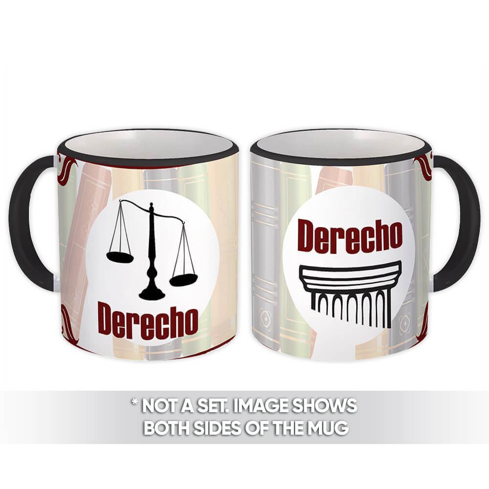 Derecho : Gift Mug Job Work Coworker Birthday Occupation Graduation Profession