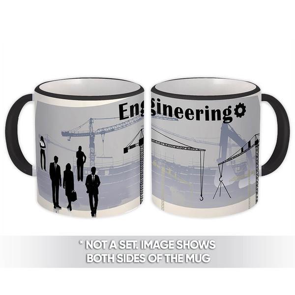 Engineering : Gift Mug Profession Job Work Cowork Birthday Occupation Graduation