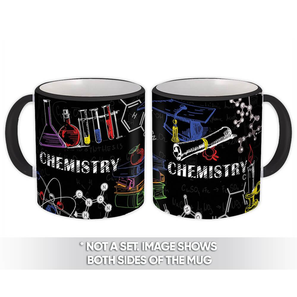 Chemistry : Gift Mug Profession Job Work Coworker Birthday Occupation Graduation