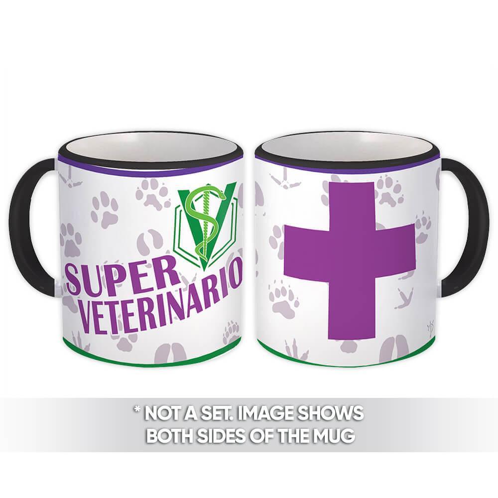 Super Veterinario : Gift Mug Profession Job Work Coworker Birthday Occupation