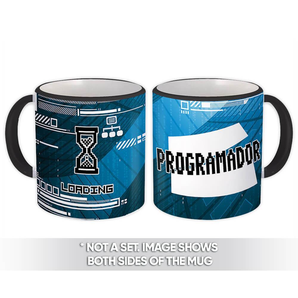 Programador : Gift Mug Profession Job Work Coworker Birthday Occupation Graduation