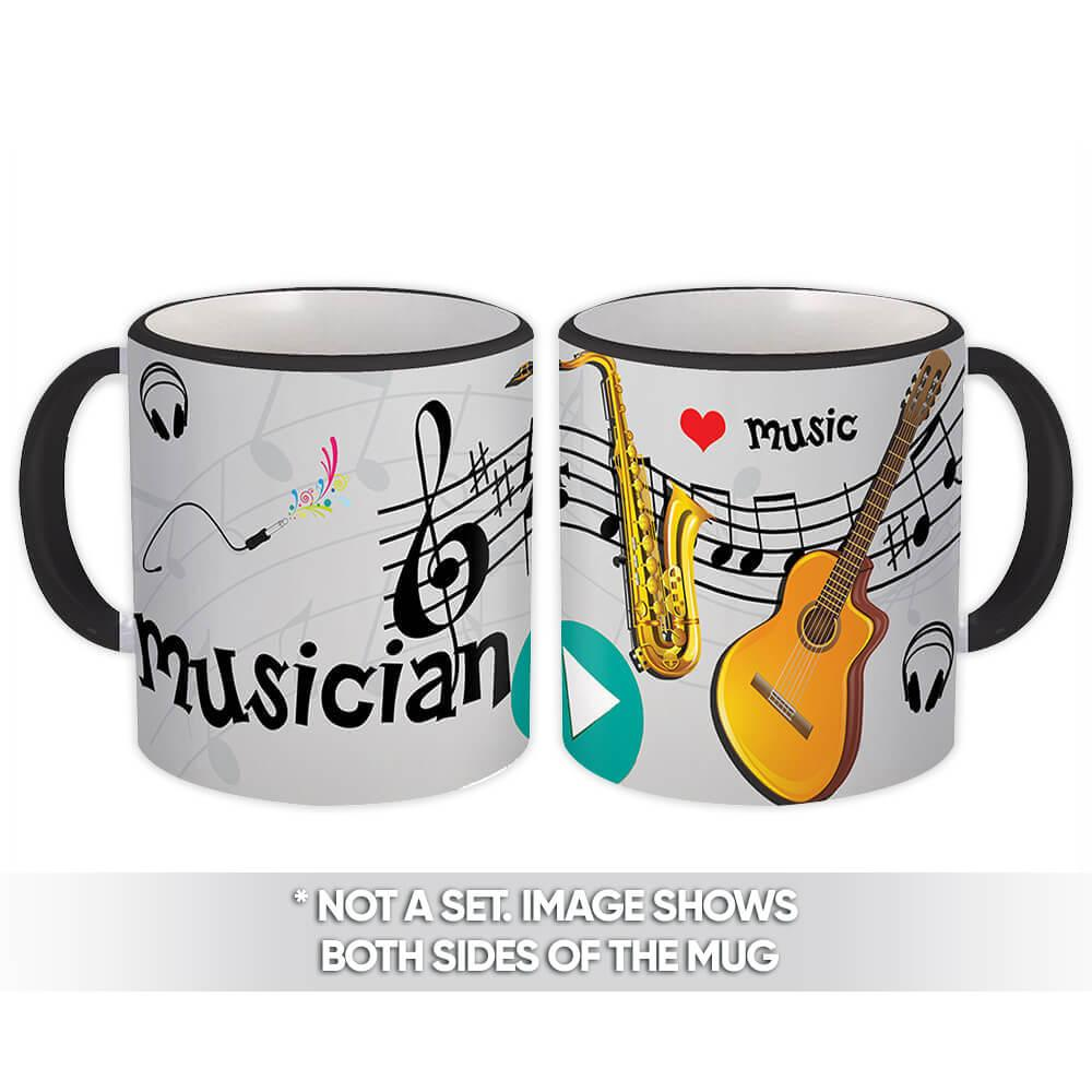 Musician : Gift Mug Profession Job Work Coworker Birthday Occupation Graduation