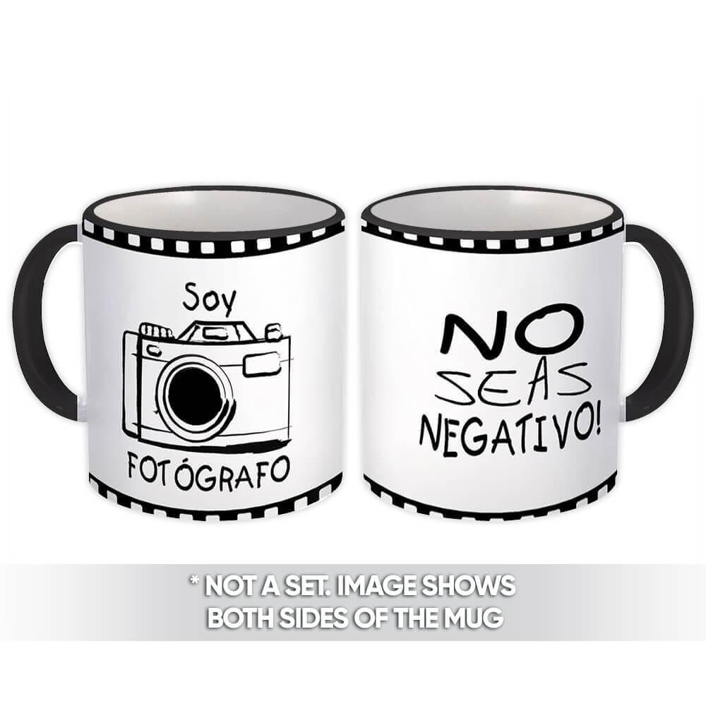 Soy Fotografo No Seas Negativo : Gift Mug Profession Coworker Birthday Fotografia