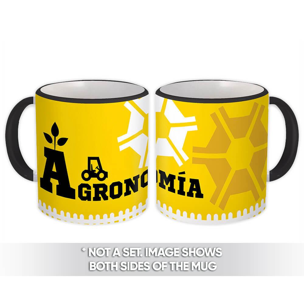 Agronomía : Gift Mug Profession Job Work Coworker Birthday Occupation Graduation
