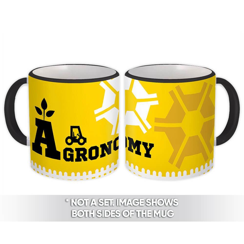 Agronomy : Gift Mug Profession Job Work Coworker Birthday Occupation Graduation