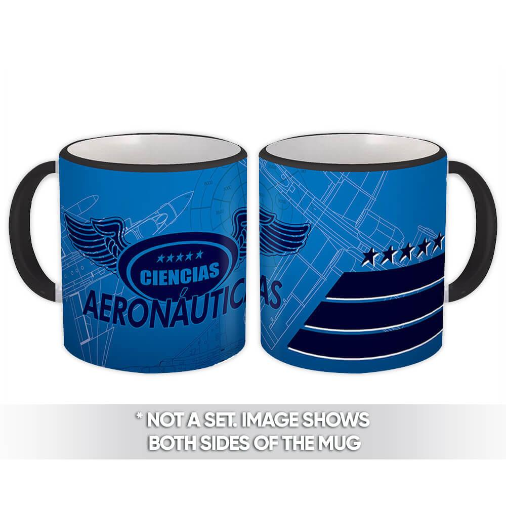 Ciencias Aeronauticas : Gift Mug Profession Job Work Coworker Birthday Occupation