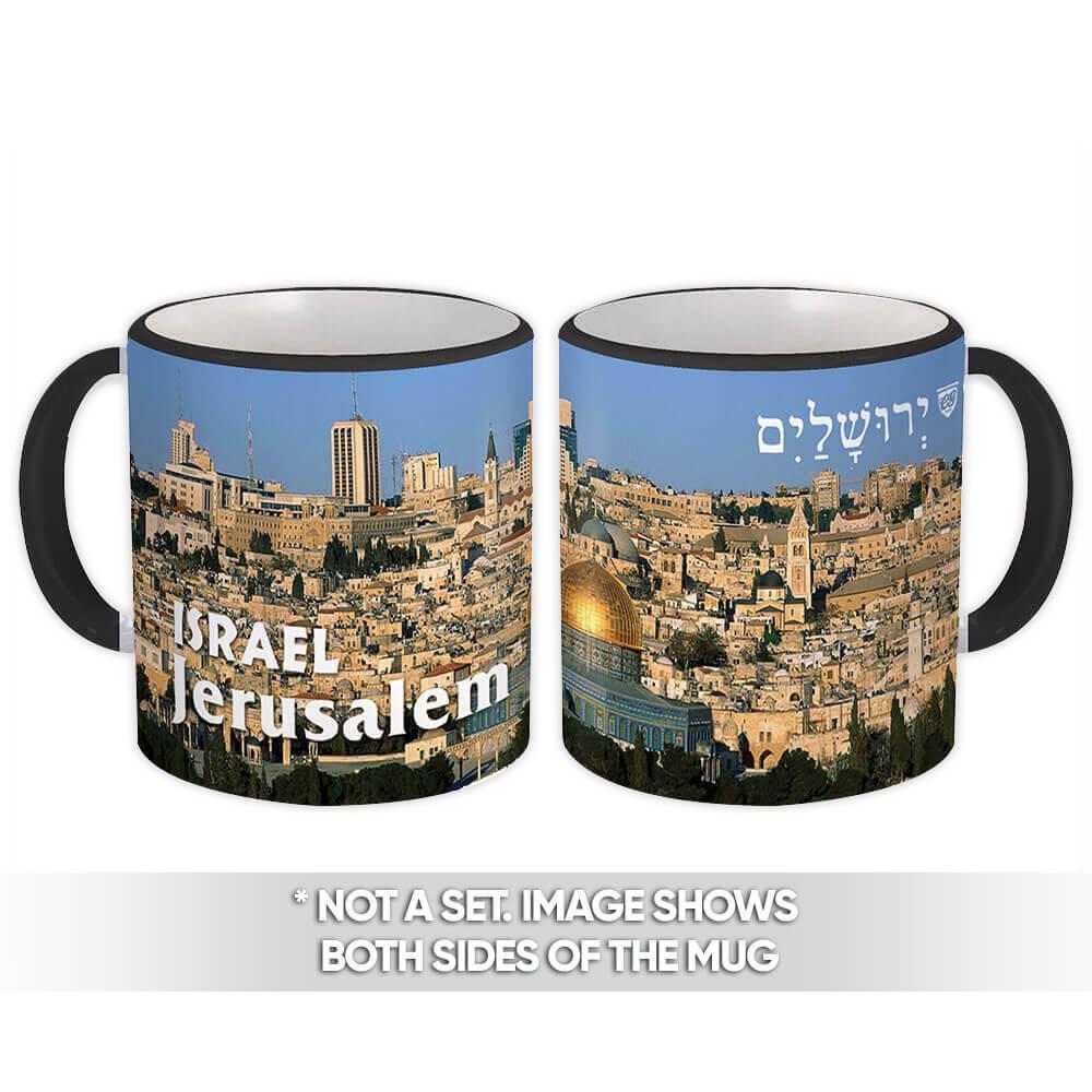 Israel Jerusalem : Gift Mug Christian Jewish Mug Cup Souvenir Tourism