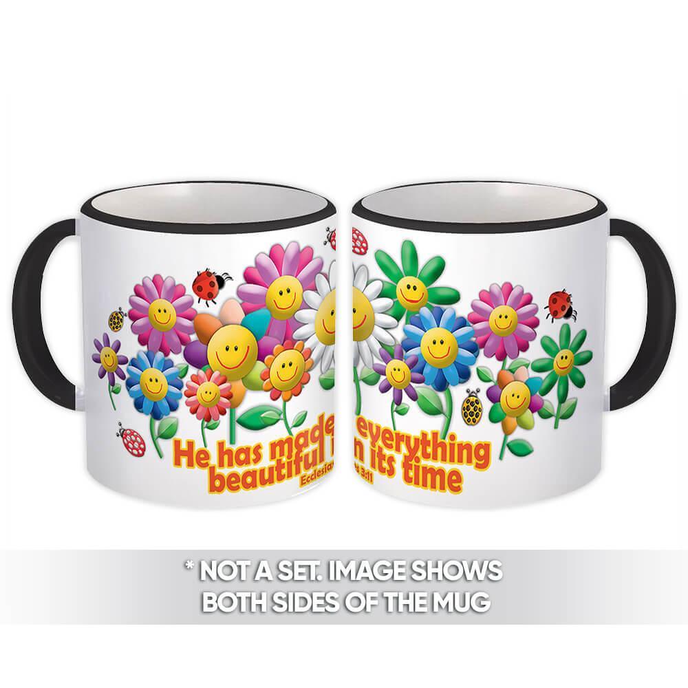 Beautiful in its Time : Gift Mug Christian Religious Catholic Jesus