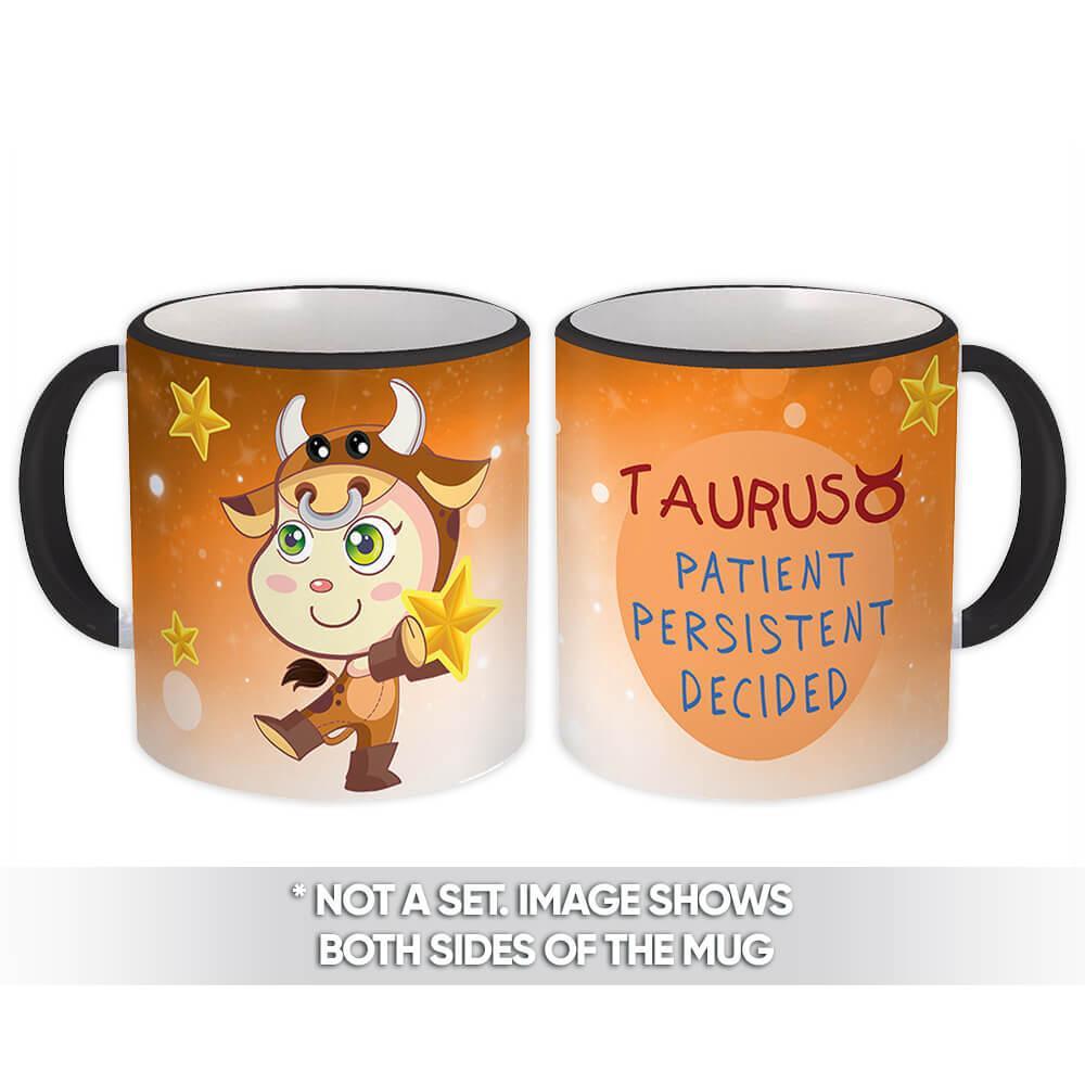 Taurus : Gift Mug Signs Zodiac Esoteric Horoscope Astrology