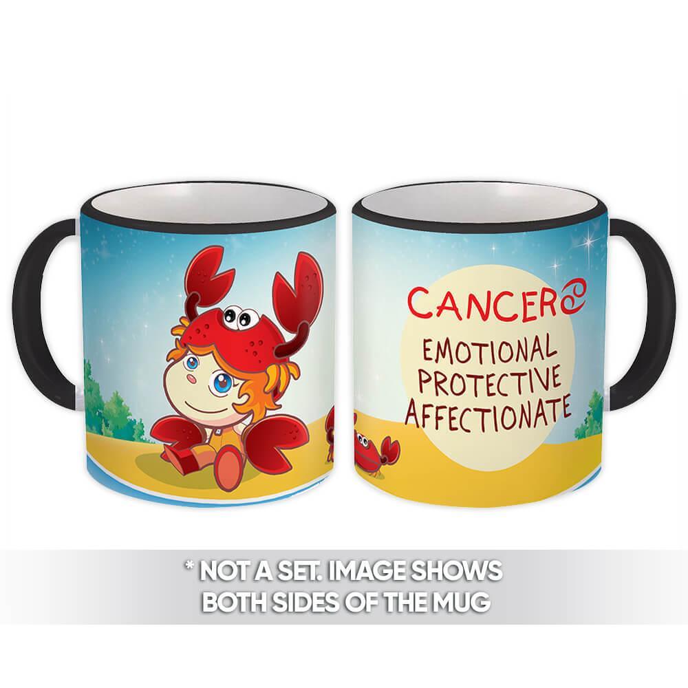 Cancer : Gift Mug Signs Zodiac Esoteric Horoscope Astrology