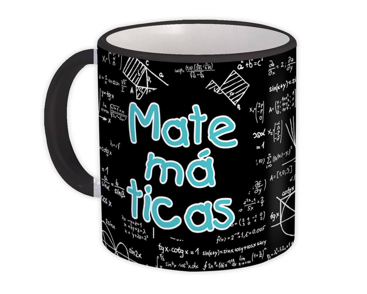 Matemáticas : Gift Mug Profession Job Work Coworker Birthday Occupation Graduation