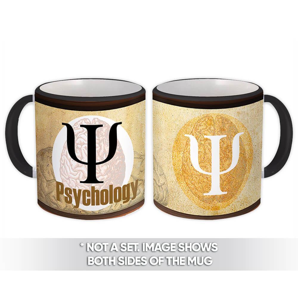 Psychology : Gift Mug Profession Work Coworker Birthday Occupation Graduation