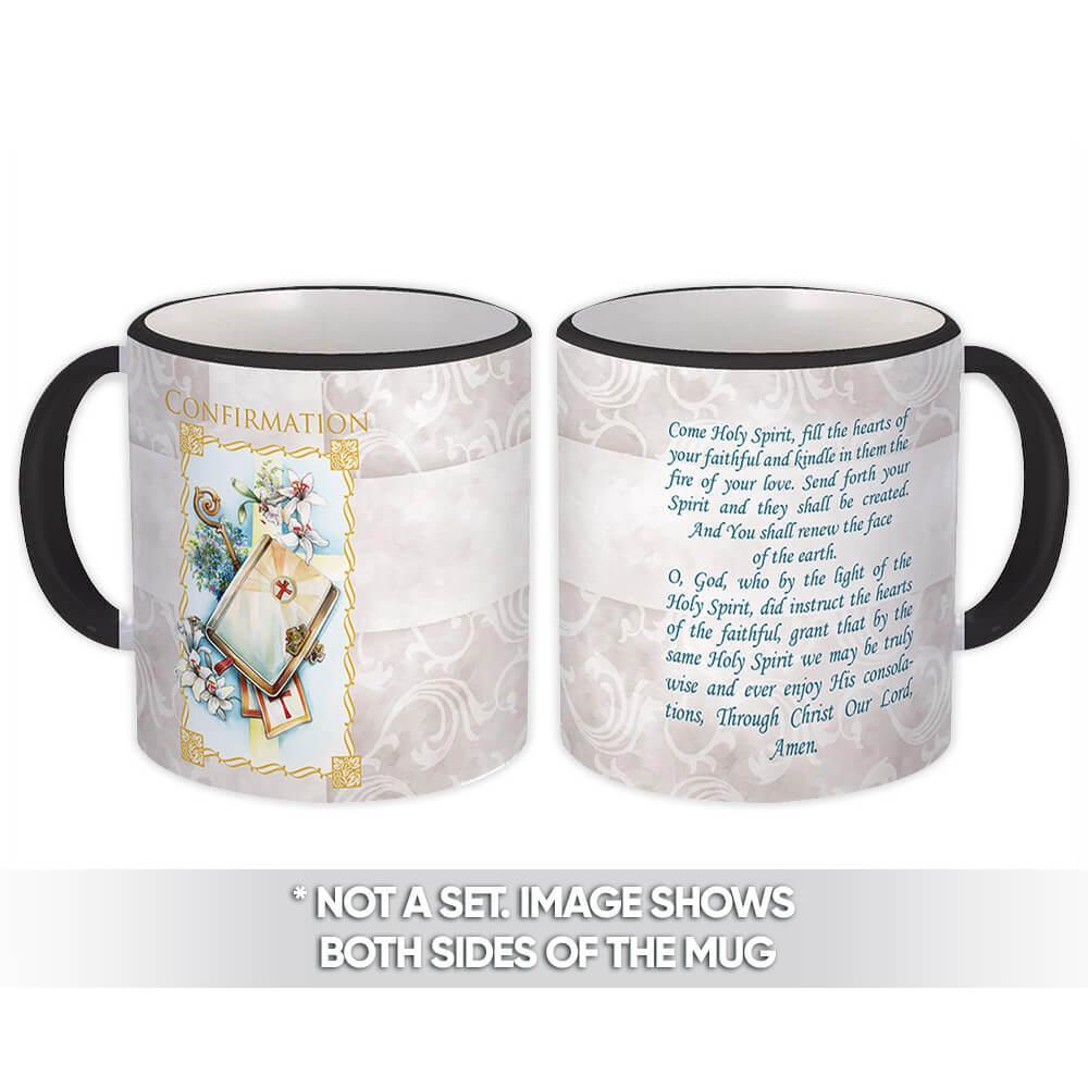 Confirmation : Gift Mug Catholic Religious Sacrament Souvenir Giveaway