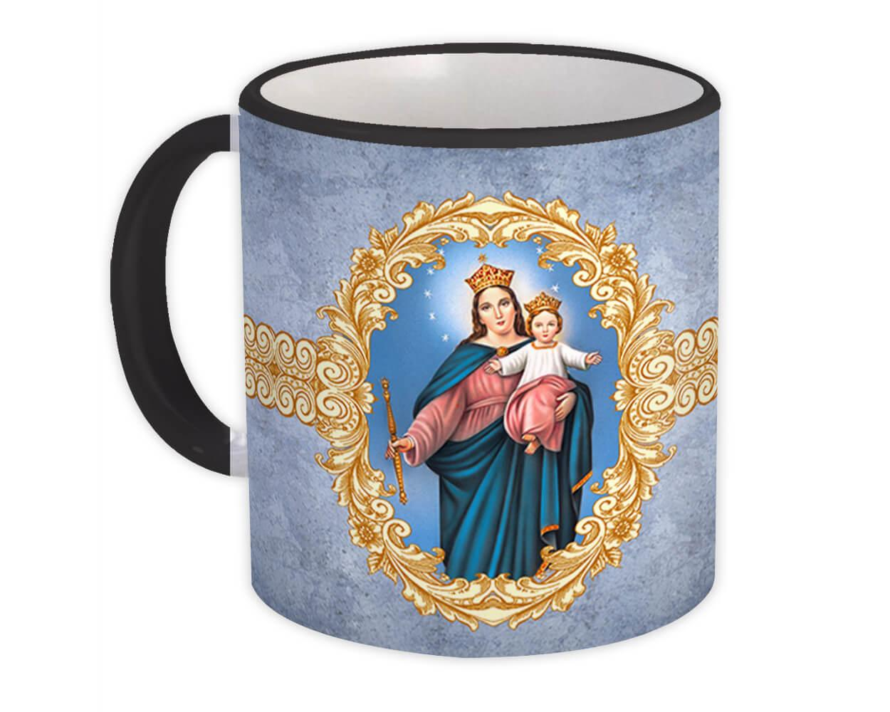 Our Lady of Perpetual Help : Gift Mug Catholic Virgin Mary Religious